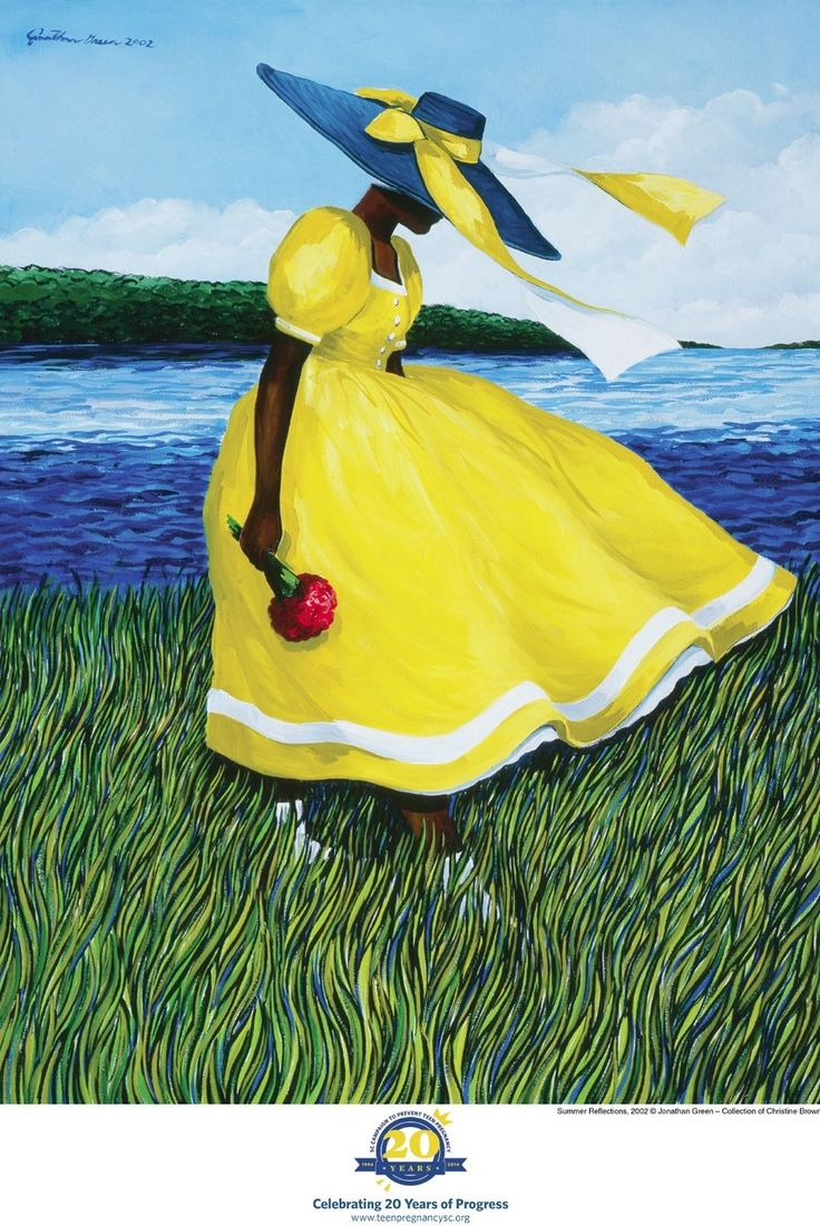 "Summer Reflections"" The Art of Jonathan Green [Gardens Corner, Beaufort County, SC Native]"