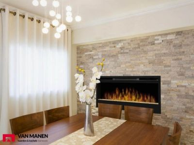 electric fireplace by faber