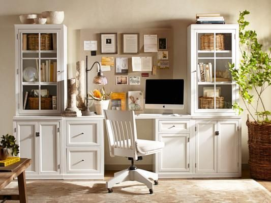 Logan Small Office Suite Pottery Barn (For The Dining Room)