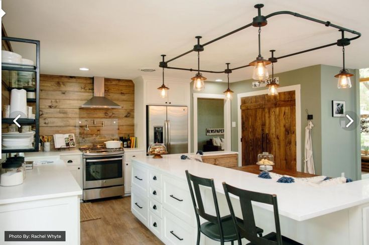 Fixer Upper Midcentury Ranch Gets a New Look With a Farmhouse Feel   Kitchen remodel, Kitchen ...