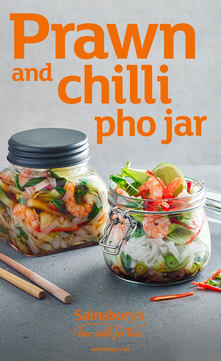 Ready in less than 15 minutes, this simple Asian-inspired prawn chilli pho recipe is one of our favourites. This is a healthier option perfect for mid-week meals and is also the ideal take-to-work lunch.