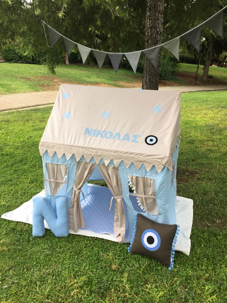 playing tents personalized handmade!!