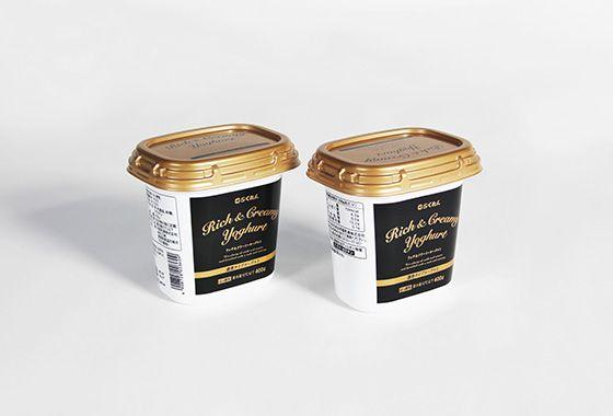 Rich & Creamy Yoghurt/パッケージ