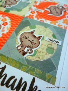 #marygunnFUNN #cat #card #CTMH
