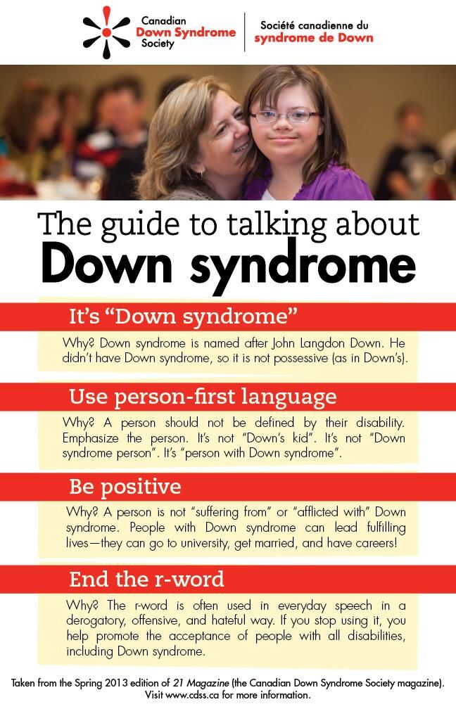 The Guide to Talking about Down Syndrome