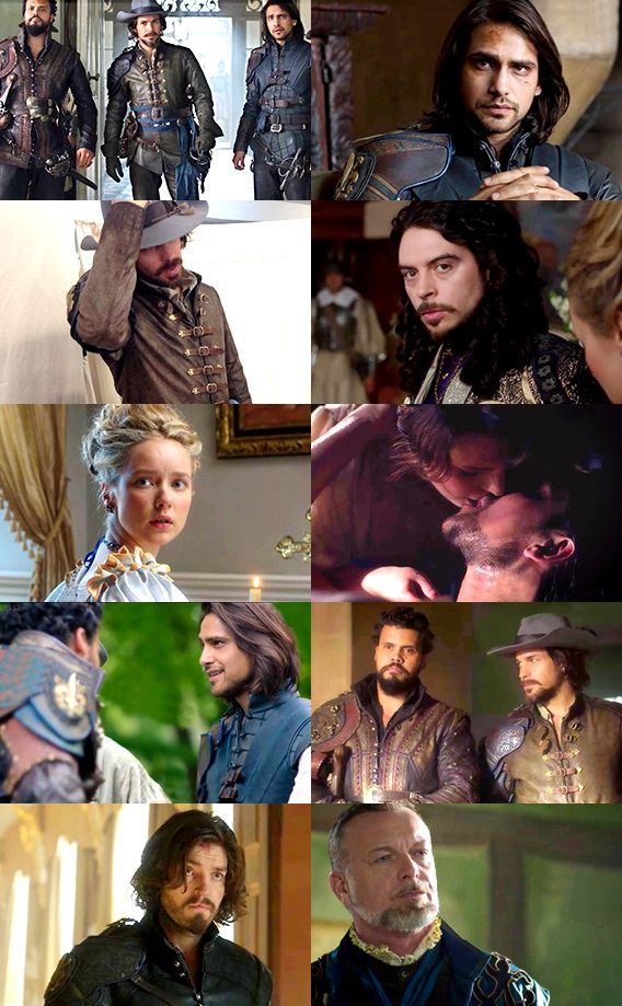 We Haven't Located Us Yet — kynikey:   The Musketeers Season 3 Roundup - Part...