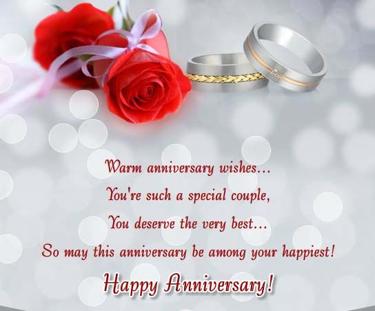 Send your warm #anniversary #wishes to a special #couple with this beautiful #HappyAnniversary #Ecard. www.123greetings.com