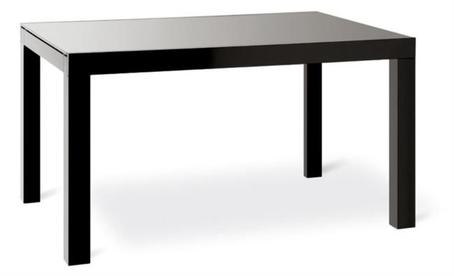 Tavolo allungabile in legno con piano in vetro o legno