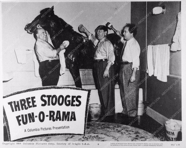 photo Three Stooges Moe Larry Joe Besser comedy Fun-O-Rama 2919-15