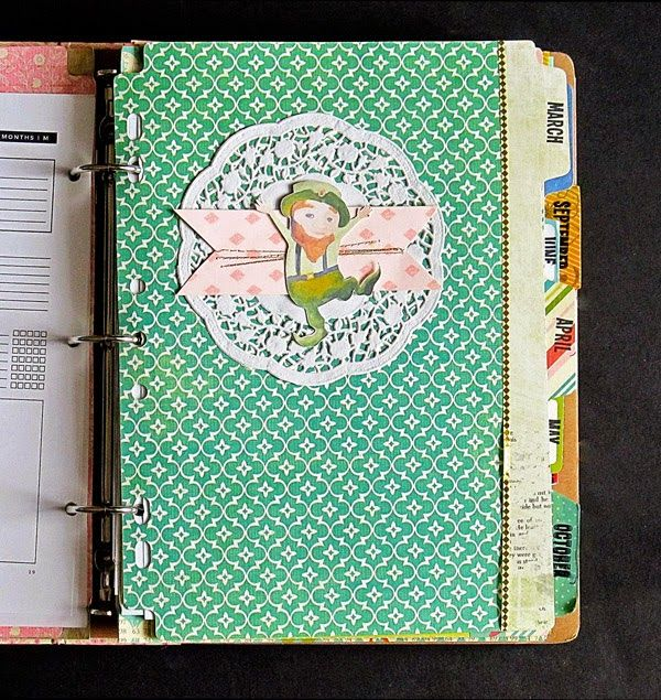 My Scrapbook Evolution: My March and April Planner Pages