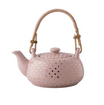 Bloomingville Henrietta Teekanne #Tee #Kanne #Krug #Keramik #Rosa #Rosarot #Haushalt #Galaxus