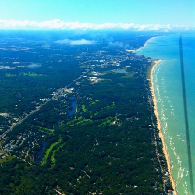 The Coast of Lake Michigan