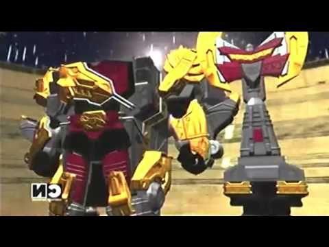 "Power Rangers Dino SuperCharge ""Ir de Pesca"" - Megazord Titan Charge"