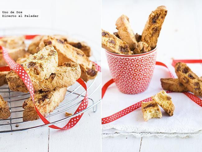 Biscotti de higos y almendras. Receta de Navidad  http://www.directoalpaladar.com/postres/biscotti-de-higos-y-almendras-receta-de-navidad