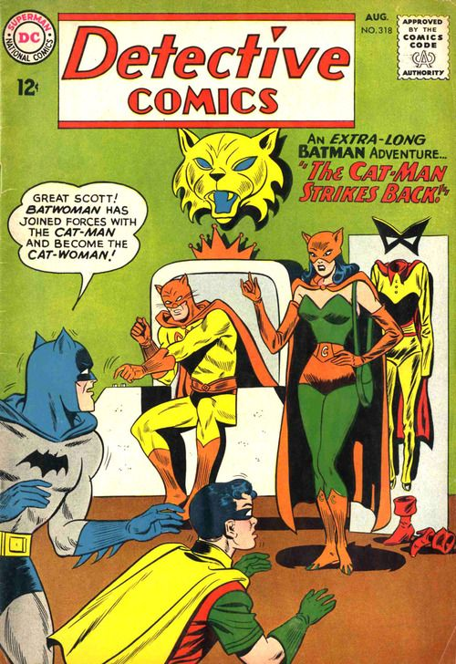 Detective Comics #318, August 1963, cover by Dick Dillin and Sheldon Moldoff