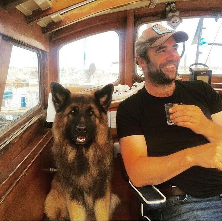 Rory McCann & his GSD