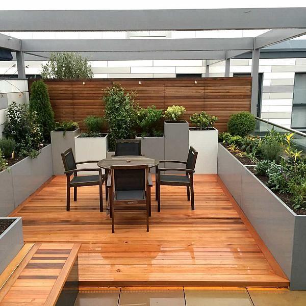 Roof Terrace Garden Design