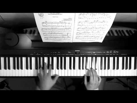 Johann Sebastian Bach wrote this piece for his Orchestral Suite No. 3 in D major, BWV 1068. August Wilhelm modified the composition in 19th century, but I pl...