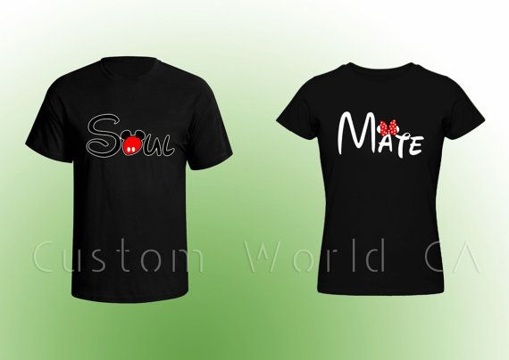 COUPLE MATCHING T-SHIRT (Comes with both Men and Women t-shirt)   FOR MORE COUPLE T-SHIRT DESIGNS PLEASE CLICK BELOW: