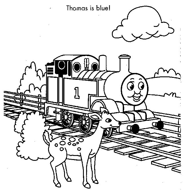 thomas coloring pages train engineer - photo#42