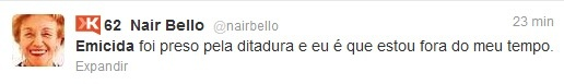 @emicida Fui preso por desacato a autoridade após o show em BH por causa da música #dedonaferida    Brasil