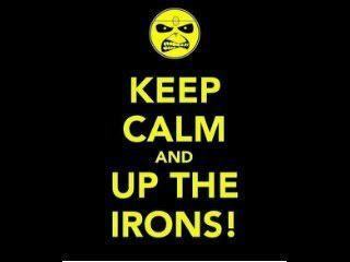 Says Eddie from Iron Maiden