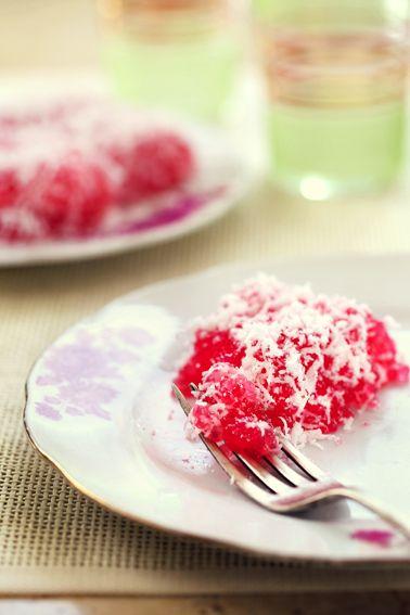 Kuih sagu or sago cake