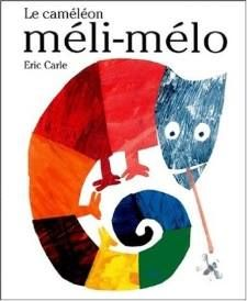 "Histoire:""Le caméléon méli-mélo"""