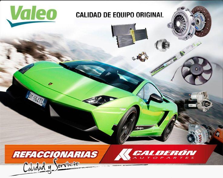 #VALEO Innovación automotriz a través de los tiempos! Encuentra en Calderón Autopartes lo mejor en: marchas, moto ventiladores, plumas limpiaparabrisas, clutches, radiadores, impulsores, porta carbones y alternadores Valeo.