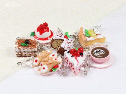"""Браслет """"Итальянские десерты"""" - италия,итальянские украшения,итальянские десерты"""