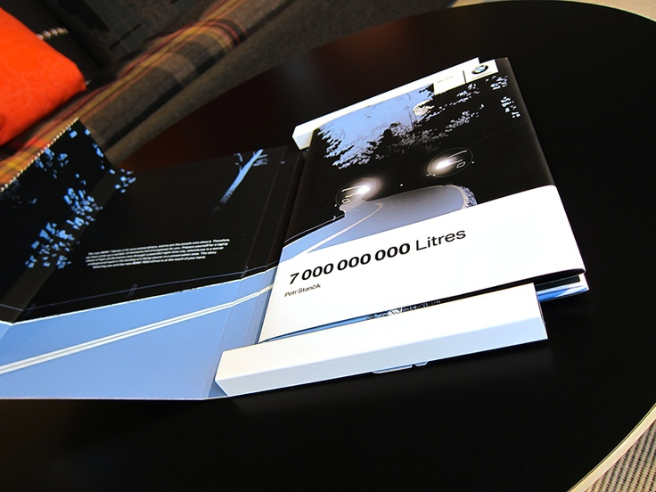 DM piece contained a personalized novel introducing the new BMW 7 Series (writer: Petr Stančík)