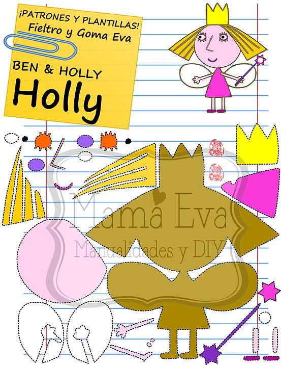 Plantillas Personajes Actuales Ben & Holly