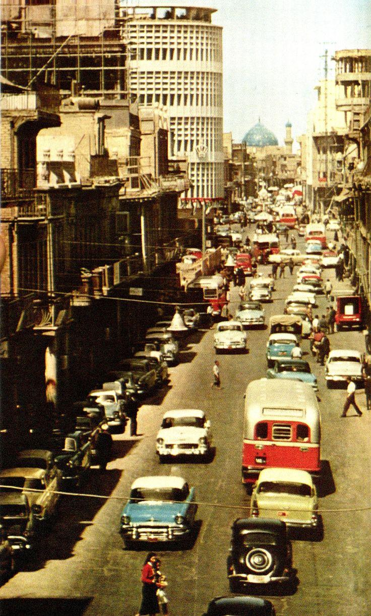 حركة السير في بغداد، ١٩٥٩