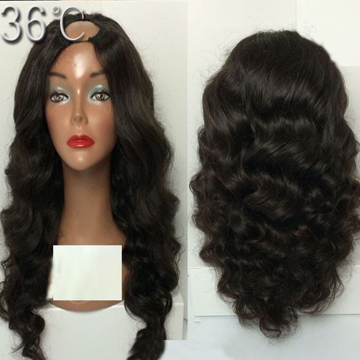 U part wigs Brazilian body wave virgin human hair u part wig left/middle/right part ,cheap u part for sale free shpping