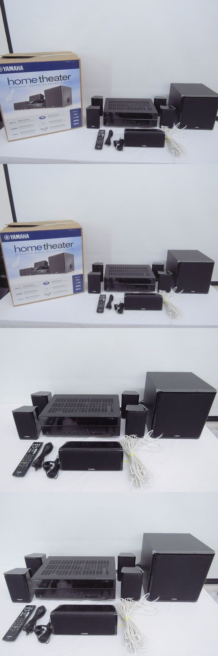 Home theater systems yamaha yht 4920ubl 5 1 channel home theater in a box