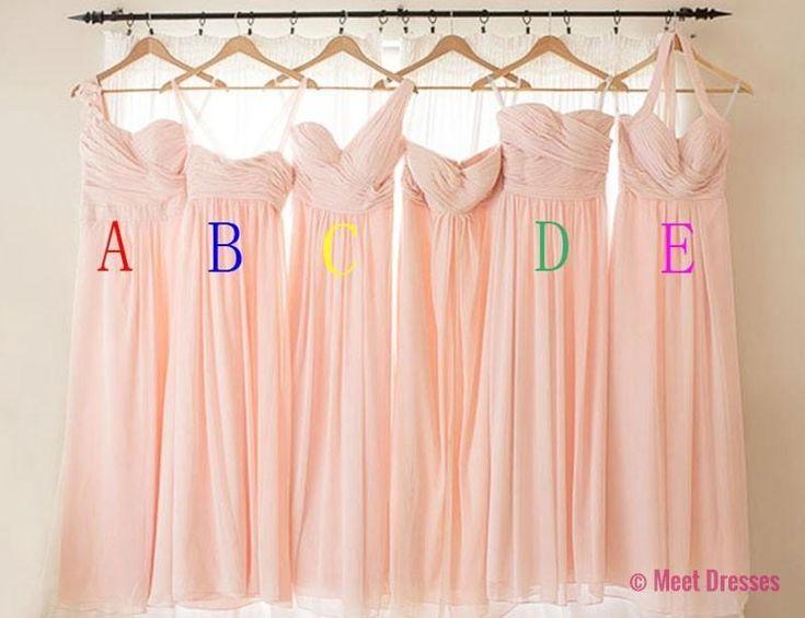 Blush Pink Bridesmaid Gown,Pretty Bridesmaid Dresses,Blush Pink Prom Gown,Simple Bridesmaid Dress,Cheap Wedding Dresses,Fall Wedding Gowns,Bridesmaid Dresses,2018 Spring Bridesmaid Gown PD20182737