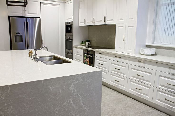 Kerry Selby Brown Design Featuring Caesarstone Alpine Mist