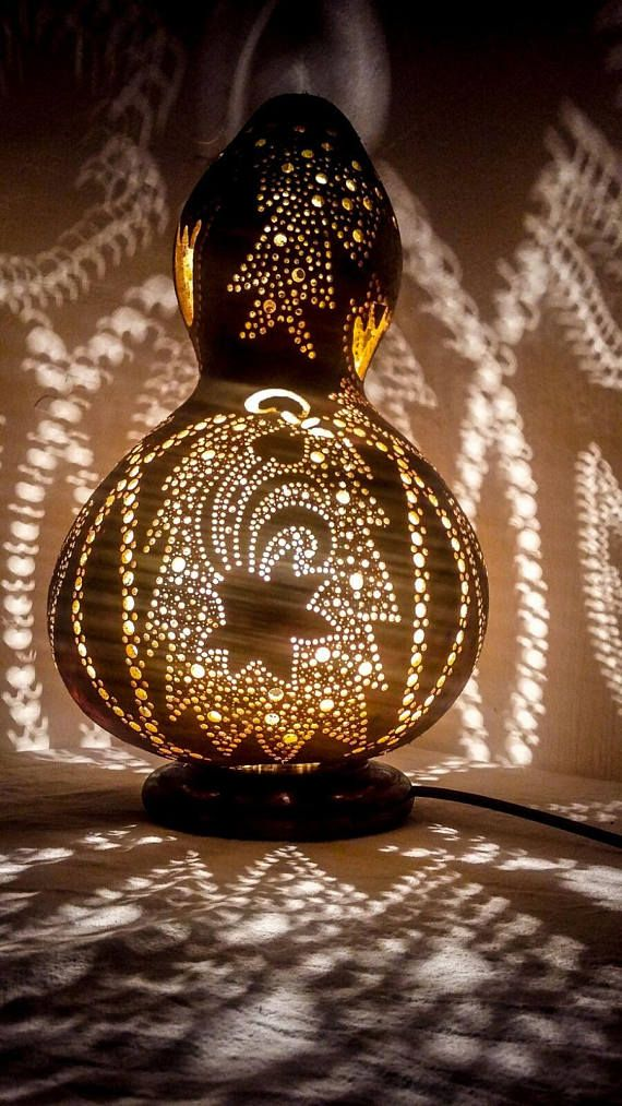 VALENTINE'S SALES Gourd lamp art deco Ottoman Turkish