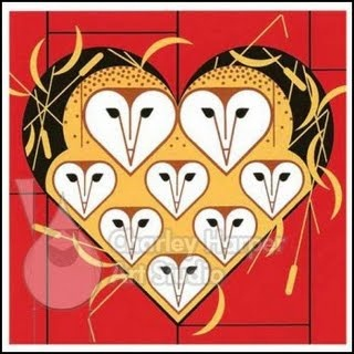 Charley Harper card #repetition #symmetrical