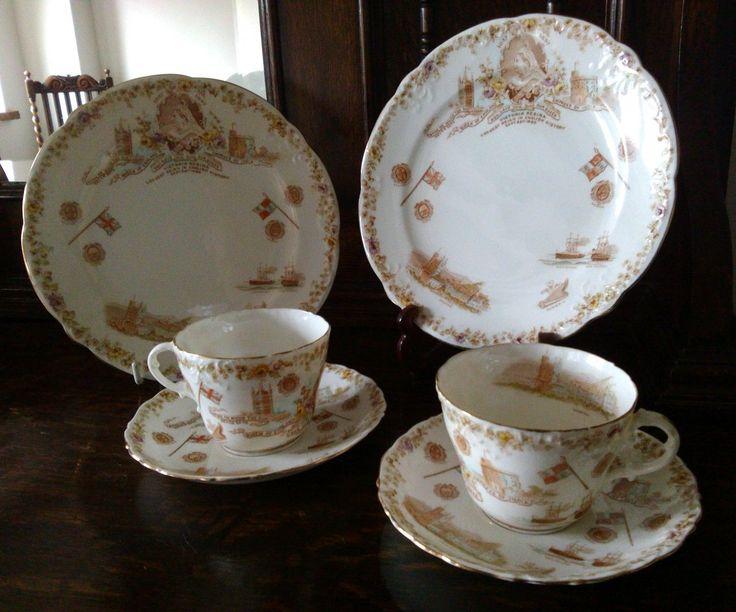 Victoria Regina 1837 - 1897 longest reign Aynsley commemorative ware tea service | eBay