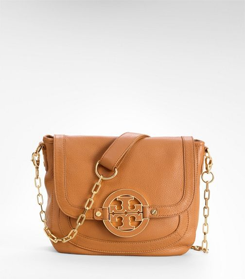 Tory Burch Amanda Messanger Bag - this color or darker brown