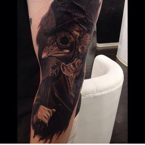 Plague Doctor Tattoos