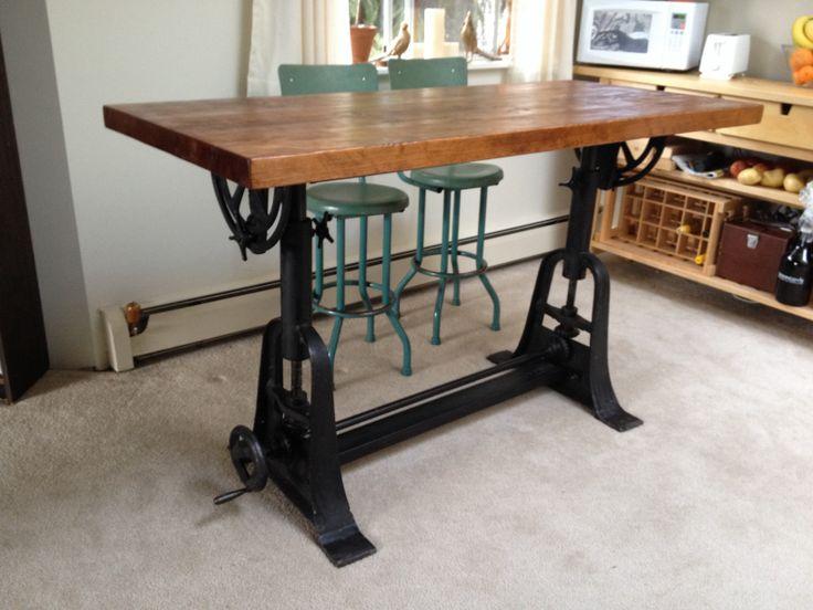 17 mejores ideas sobre Industrial Drafting Tables en Pinterest ...