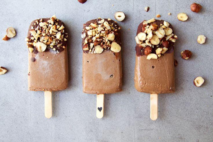 Vegan/ Gluten free/ Dairy free/ Processed sugar free Chocolate paddle pops.