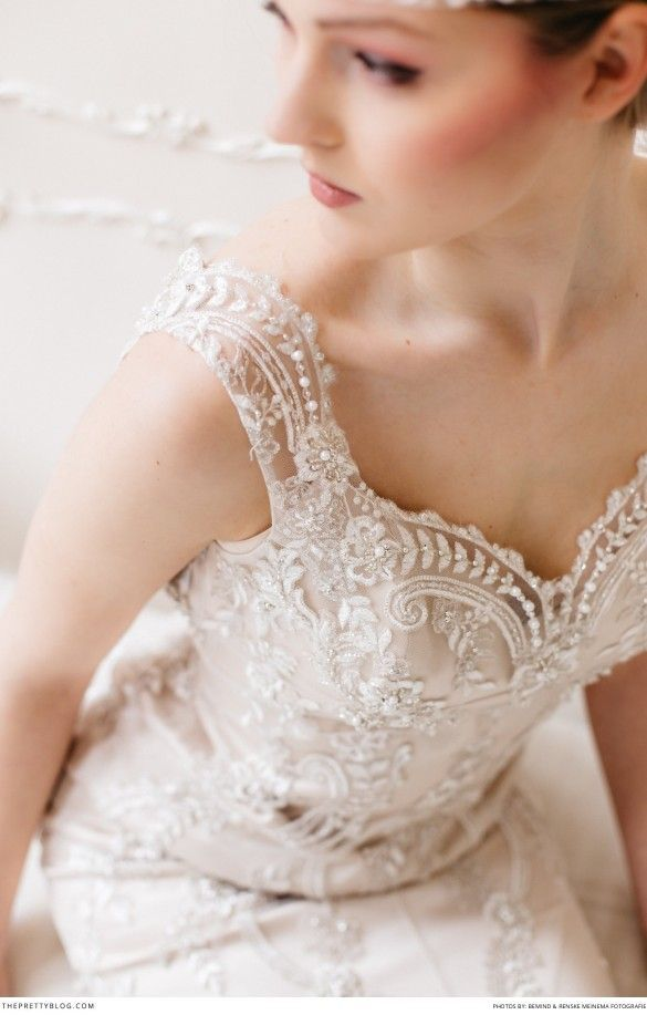 Lovely Details of Lace and Beads   Styled Shoots   Hair & Make-up by Très Jolie Visagie   Wedding Dress by The New Bride   Photography by Bemind Fotografie