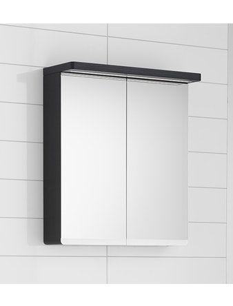 Spegelskåp Hafa Sun 900 Svart Ek