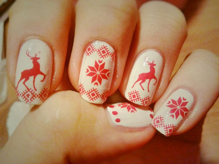 Nail. Art. Nail art. Winter. Christmas. New year.