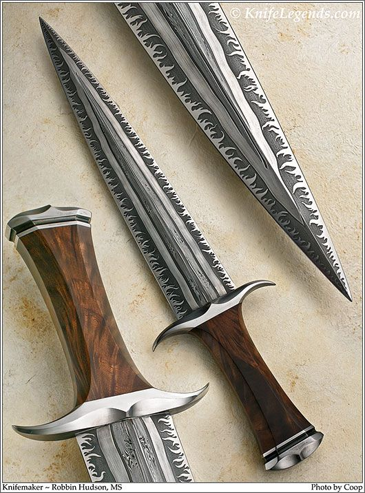 Viking style Dagger by accomplished smith and knife maker Rob Hudson