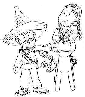 Con mirada de niños: Imágenes para colorear de la Revolución Mexicana