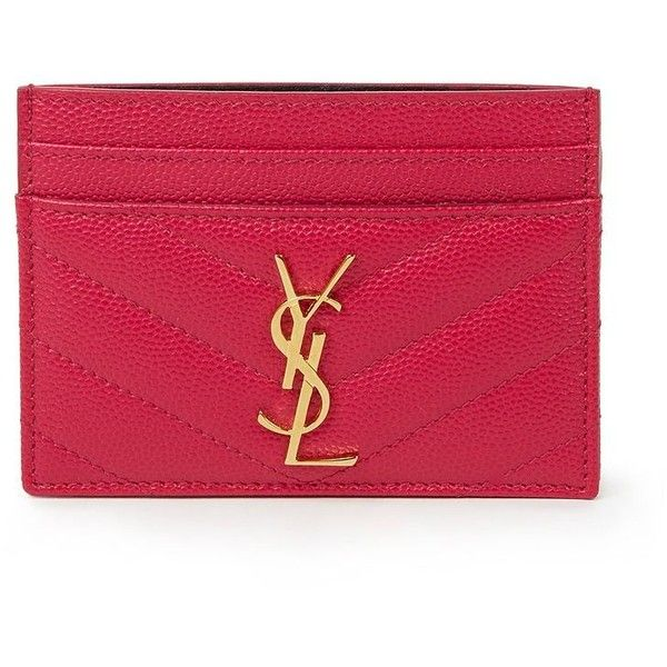 ysl china wholesale - yves saint laurent monogram card case, ysl red patent wallet